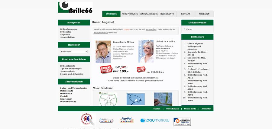 Brille66 Online-Shop