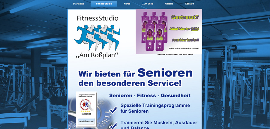 Fitnessstudio-Altenburg Fit im Alter