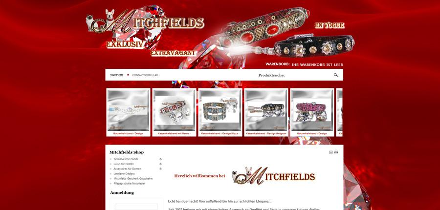 Mitchfields Online-Shop